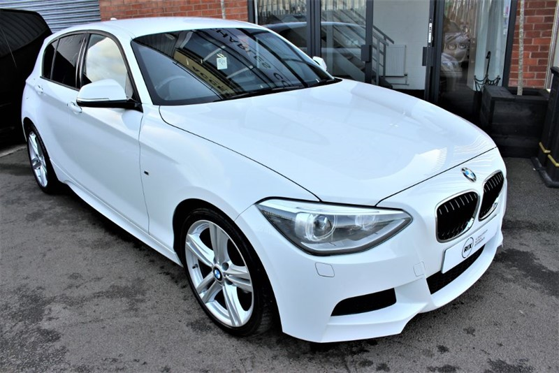 used BMW 118d M SPORT in warrington-cheshire