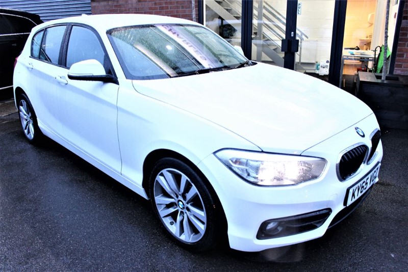 used BMW 120d SPORT-BLUETOOTH in warrington-cheshire
