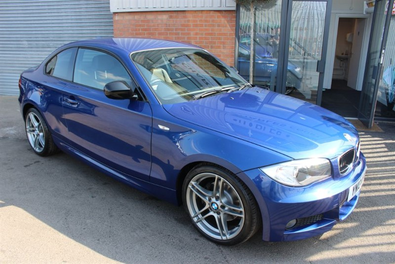 used BMW 120i SPORT PLUS EDITION-LOW MILEAGE in warrington-cheshire