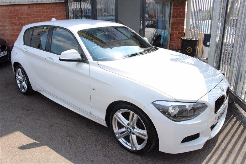 used BMW 125d M SPORT AUTOMATIC-SUPER LOW MILEAGE-BLUETOOTH in warrington-cheshire