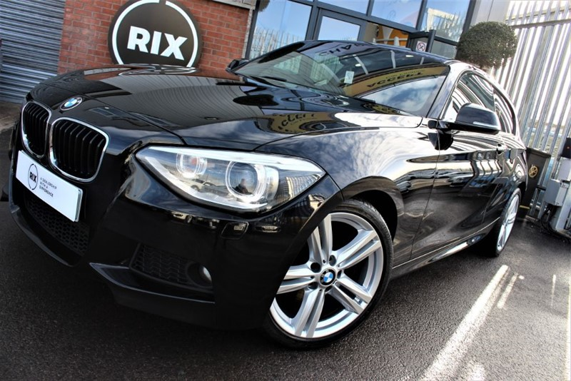 used BMW 125d M SPORT-PRO NAV-XENONS-RED LEATHER in warrington-cheshire