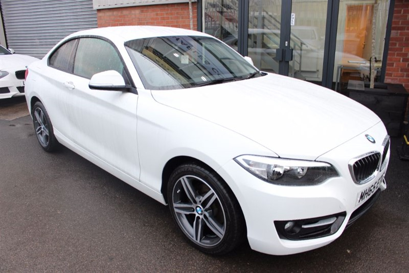 used BMW 218i SPORT-1OWNER-SAT NAV in warrington-cheshire