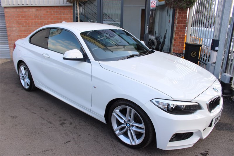 used BMW 225d M SPORT-XENONS-LOW MILES-1OWNER in warrington-cheshire