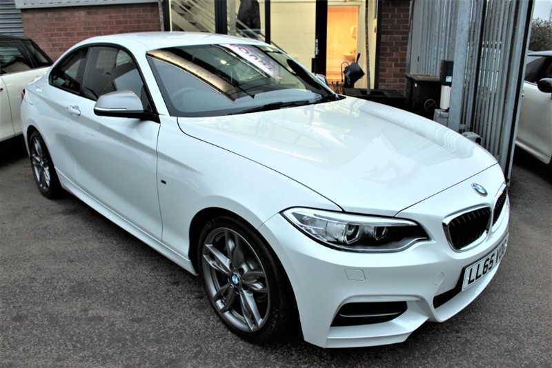 used BMW M235i SAT NAV-RED LEATHER in warrington-cheshire