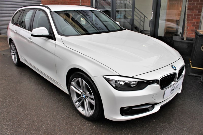 used BMW 318d SPORT TOURING in warrington-cheshire