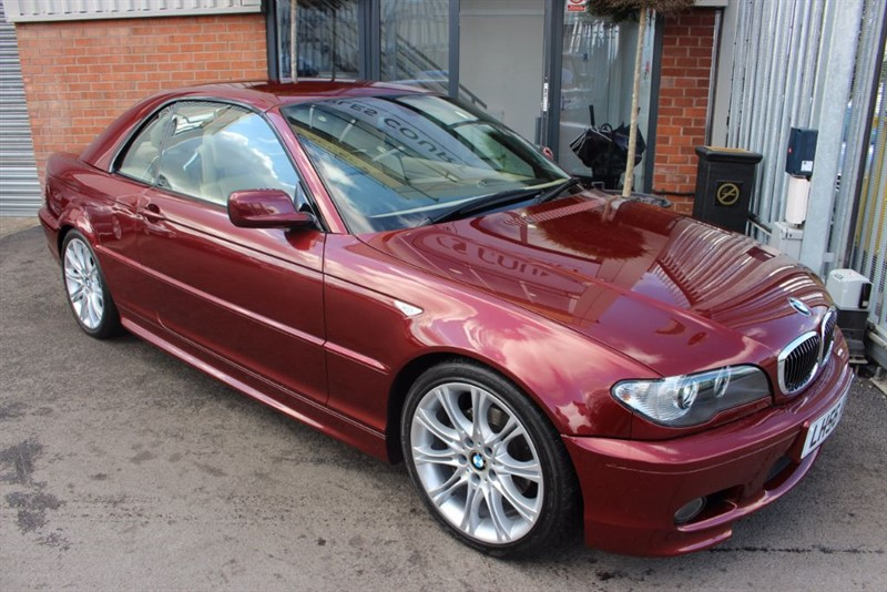 used BMW 320 CI M SPORT EDITION-RARE LOW MILEAGE in warrington-cheshire