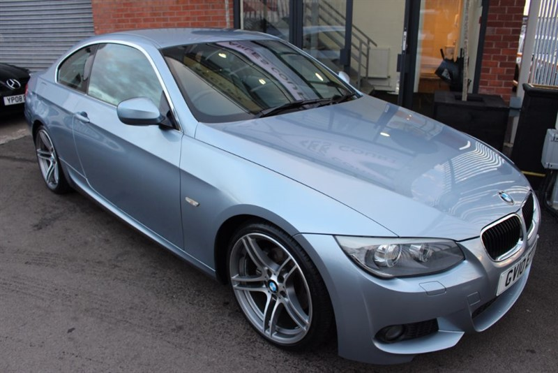 used BMW 320d M SPORT in warrington-cheshire