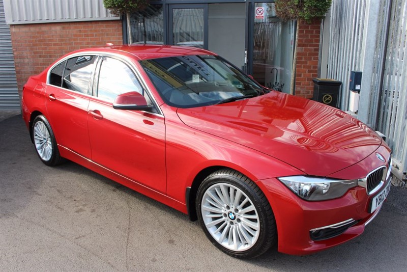 used BMW 320d LUXURY-FULL LEATHER-HEATED SEATS in warrington-cheshire