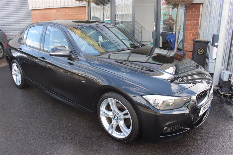 used BMW 320d M SPORT-SAT NAV-1OWNER in warrington-cheshire