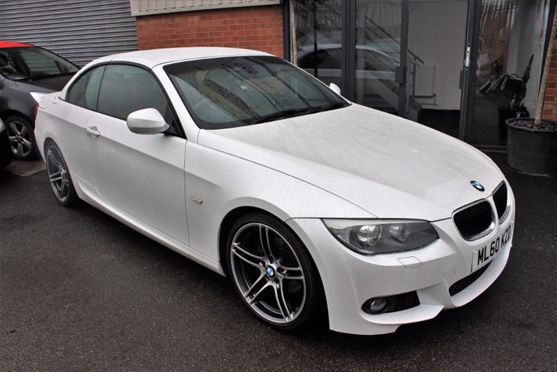 """used BMW 320i M SPORT WITH RED LEATHER & 19""""ALLOYS in warrington-cheshire"""