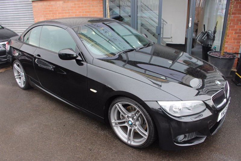 used BMW 325d SPORT PLUS EDITION-LEATHER UPHOLSTERY in warrington-cheshire