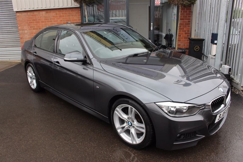 used BMW 330d M SPORT in warrington-cheshire