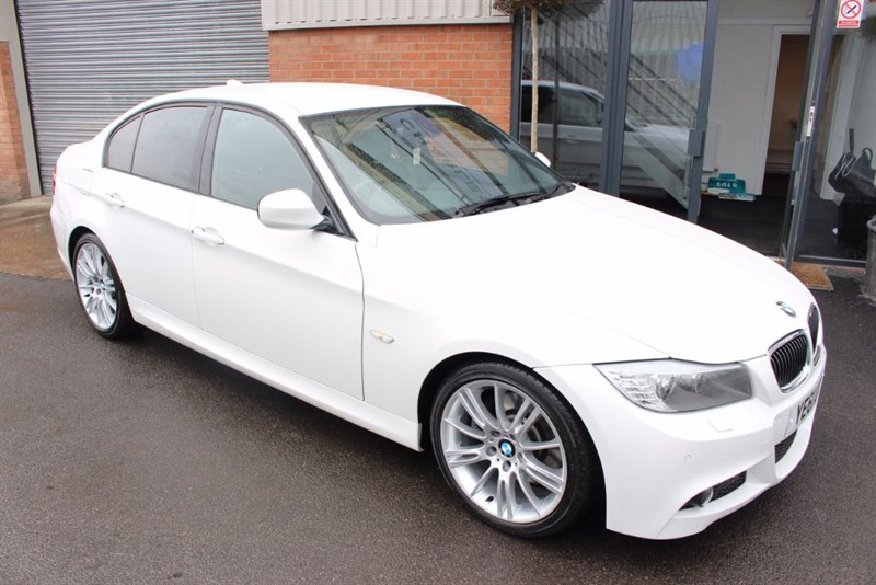 used BMW 330d M SPORT-SATNAV-BLUETOOTH-LOW MILEAGE in warrington-cheshire