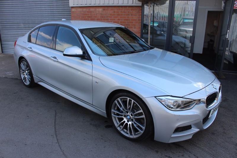"used BMW 330d M SPORT-19"" ALLOYS-WIDESCREEN NAV-H/KARDON SOUND in warrington-cheshire"