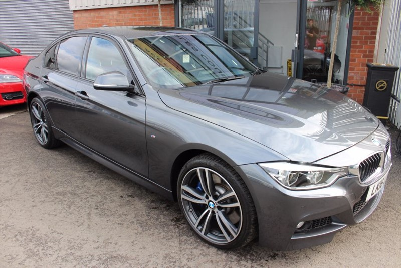 used BMW 335d XDRIVE M SPORT PLUS-CORAL RED LEATHER in warrington-cheshire