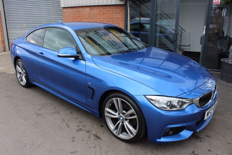 """used BMW 420d M SPORT-19""""ALLOYS-WIDESCREEN NAV & HEATED SEATS in warrington-cheshire"""