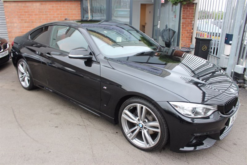 used BMW 420d M SPORT-RED LEATHER-SATNAV in warrington-cheshire