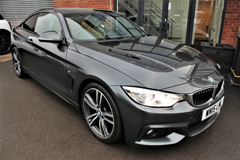 used BMW 420d M SPORT-OYSTER DAKOTA LEATHER-PROFESSIONAL NAV in warrington-cheshire
