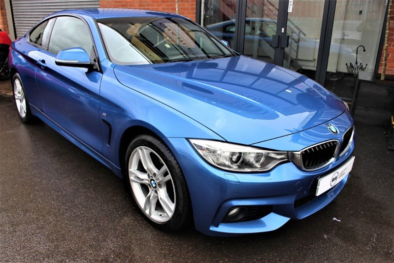 used BMW 420d XDRIVE M SPORT in warrington-cheshire