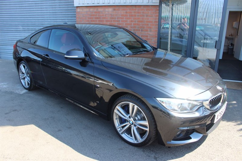 used BMW 435d XDRIVE M SPORT in warrington-cheshire