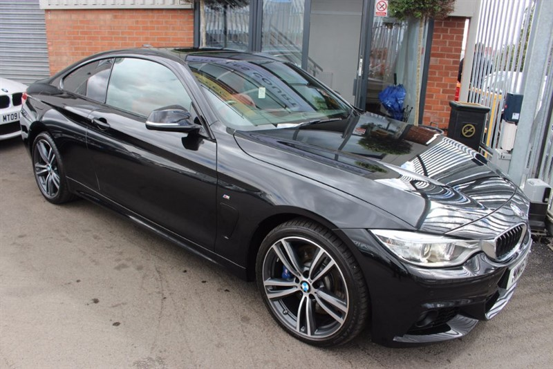 """used BMW 435d XDRIVE M SPORT-RED LEATHER-19""""ALLOYS-SUNROOF-SATNAV in warrington-cheshire"""