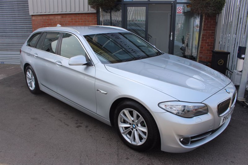 used BMW 520d SE TOURING-1OWNER-SAT NAV in warrington-cheshire