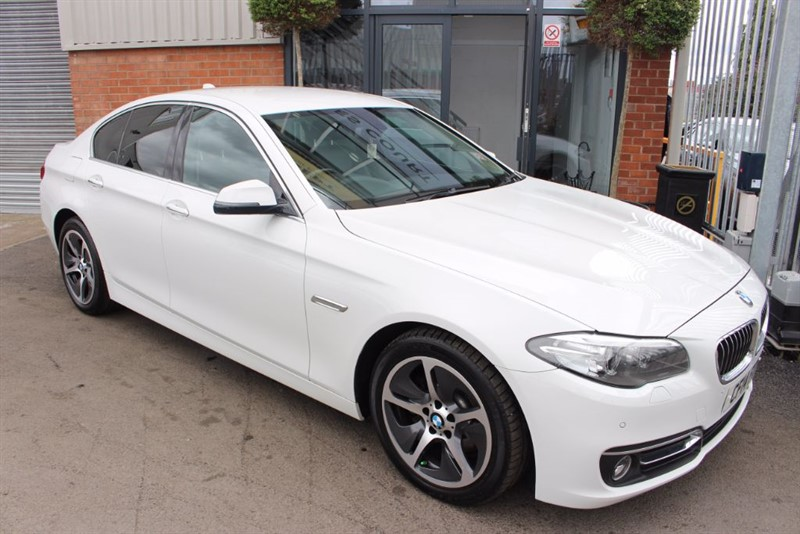 used BMW 520d LUXURY in warrington-cheshire