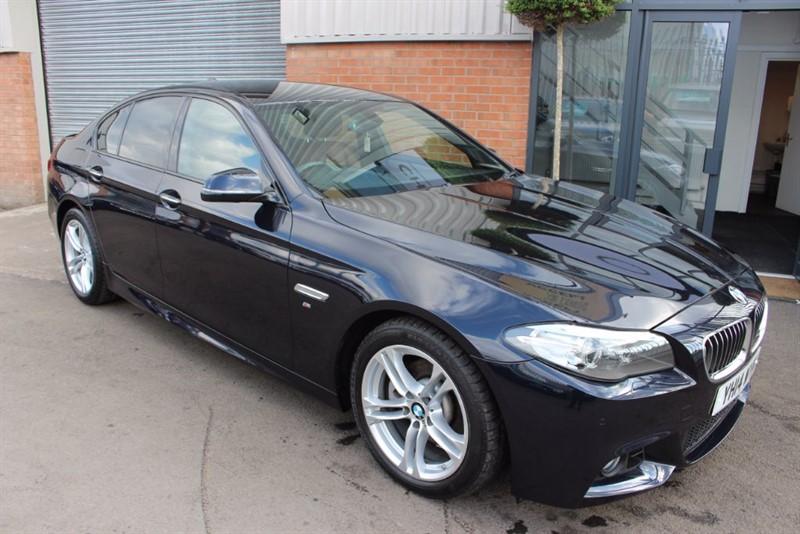 used BMW 520d M SPORT-CINNAMON BROWN DAKOTA LEATHER in warrington-cheshire