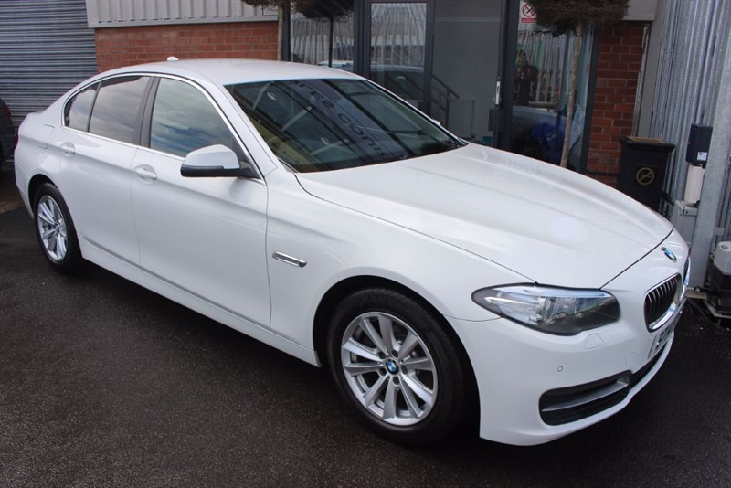 used BMW 520d SE-SAT NAV in warrington-cheshire