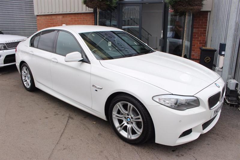 used BMW 520d M SPORT-SAT NAV in warrington-cheshire