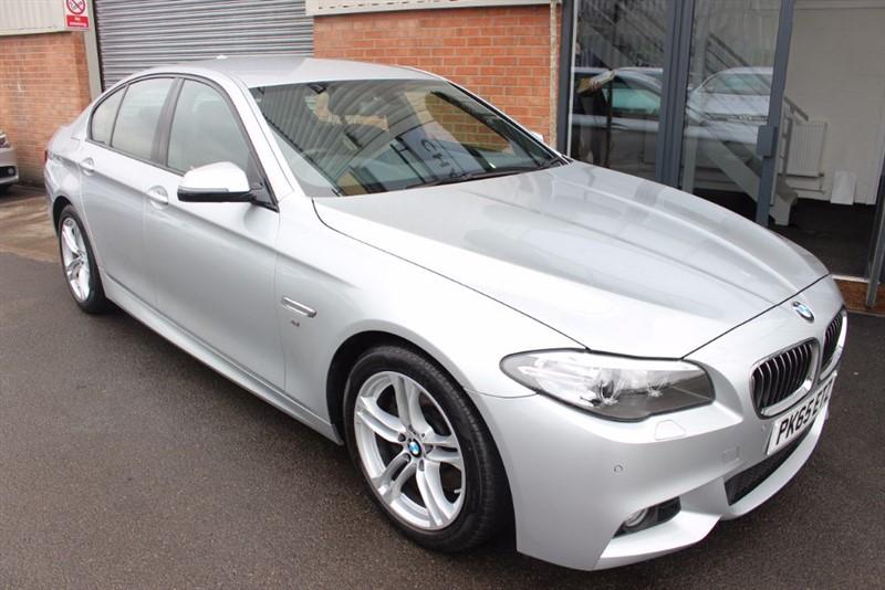 used BMW 520d M SPORT-SAT NAV-HEATED SEATS in warrington-cheshire
