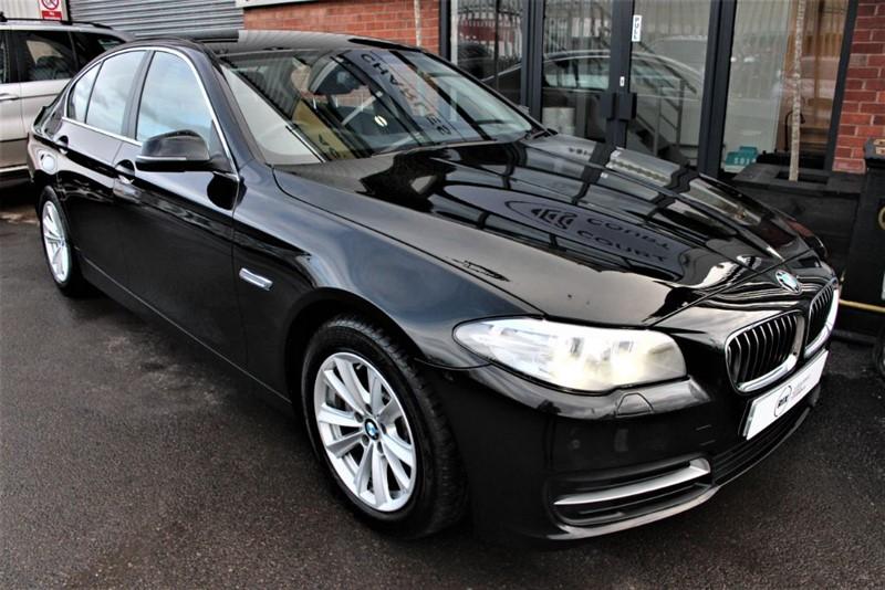 used BMW 520d SE-SAT NAV-HEATED SEATS in warrington-cheshire