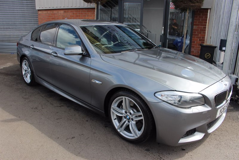 "used BMW 525d M SPORT-PRONAV-19""ALLOYS-POWER MIRRORS in warrington-cheshire"