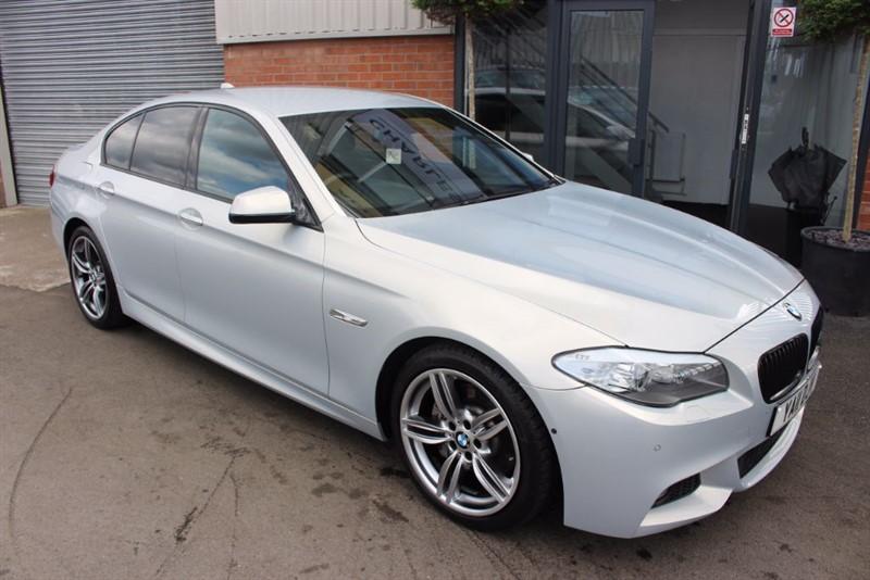 "used BMW 530d M SPORT-19""ALLOYS-360 CAMERA-WIDE SCREEN NAV in warrington-cheshire"