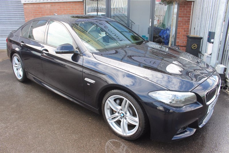 "used BMW 530d M SPORT-HEAD UP DISPLAY-19""ALLOYS-SATNAV in warrington-cheshire"