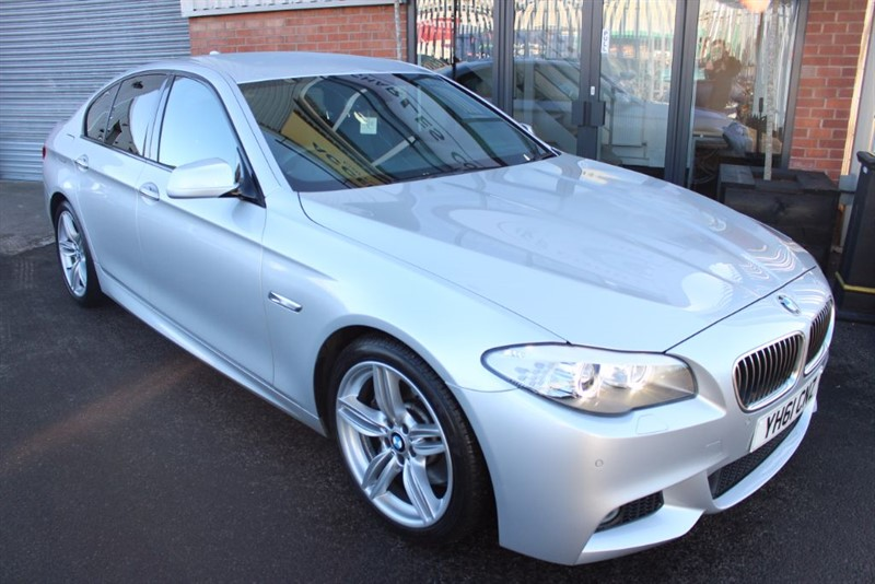 "used BMW 530d M SPORT-19""ALLOYS-WIDE SCREEN NAV in warrington-cheshire"