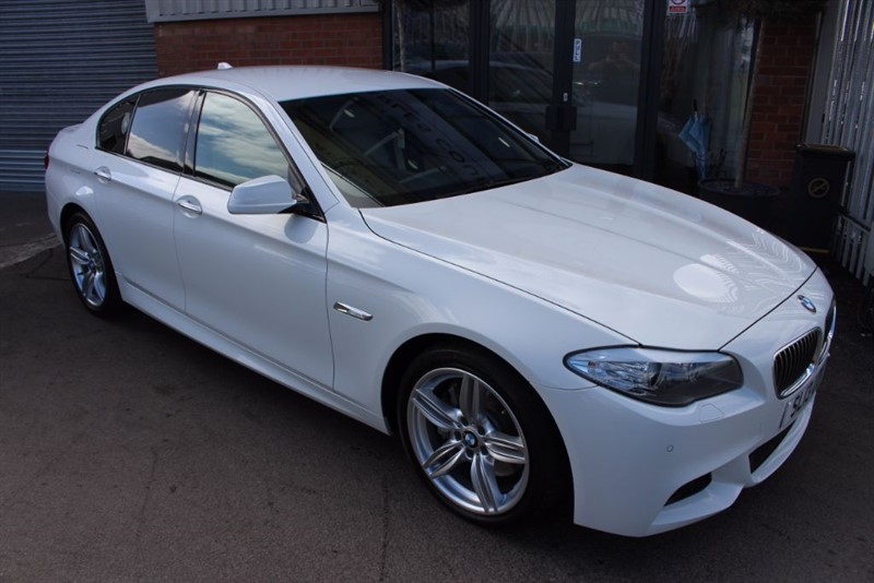 used BMW 535d M SPORT in warrington-cheshire