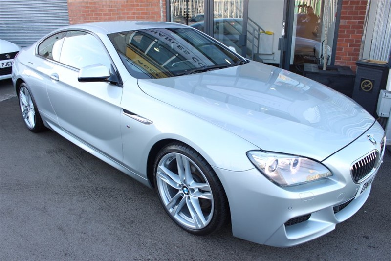 used BMW 640d M SPORT-REVERSE CAMERA-1 OWNER-CRUISE CONTROL in warrington-cheshire