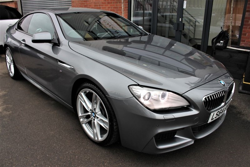 used BMW 640d M SPORT-PRO NAV-ELECTRIC FOLDING MIRRORS in warrington-cheshire