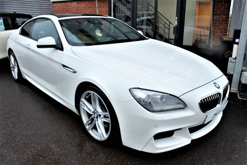 used BMW 640d M SPORT in warrington-cheshire