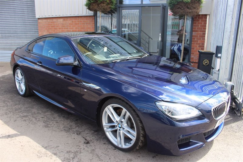 used BMW 650i M SPORT-HEAD UP DISPLAY-NIGHT VISION-GLASS SUNROOF in warrington-cheshire