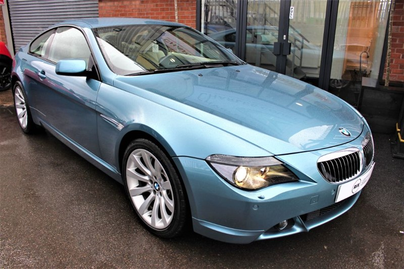 used BMW 650i SPORT-2 OWNER CAR-LOW LOW MILEAGE in warrington-cheshire