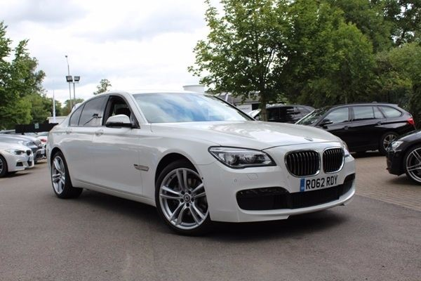 "used BMW 730d M SPORT-360 CAMERA-20""ALLOYS-SAT NAV in warrington-cheshire"