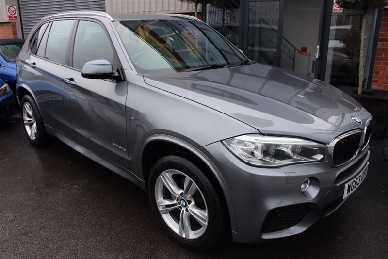 used BMW X5 XDRIVE30D M SPORT-SAT NAV-HEATED LEATHER in warrington-cheshire