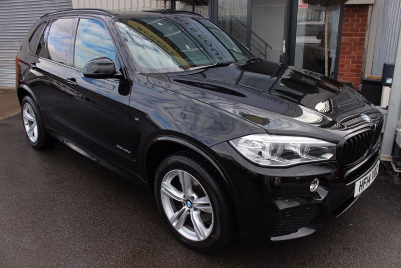 used BMW X5 XDRIVE40D M SPORT-REAR ENTERTAINMENT-PAN ROOF-REAR CAMERA in warrington-cheshire