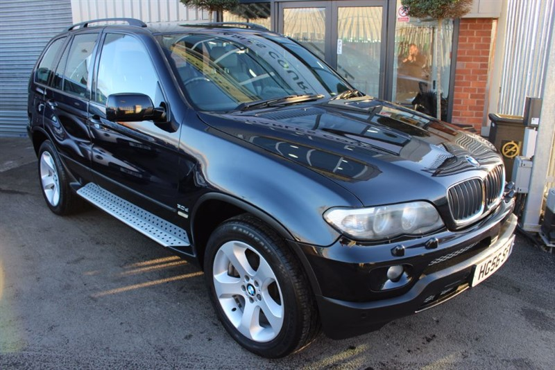 used BMW X5 D SPORT-HEATED SEATS in warrington-cheshire