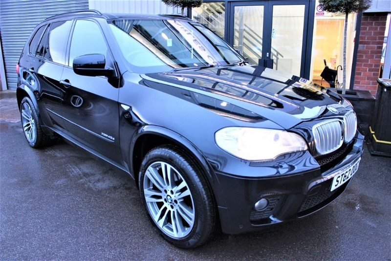 used BMW X5 XDRIVE40D M SPORT-NAV-360 CAMERA-PAN ROOF in warrington-cheshire