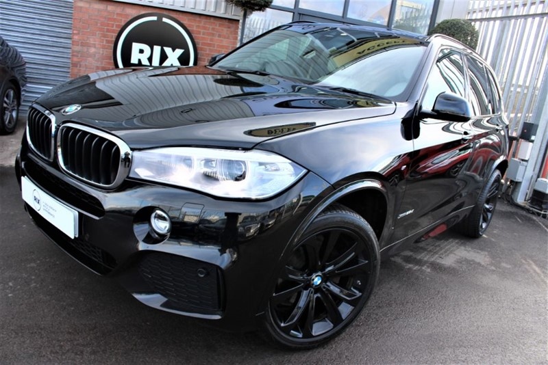 used BMW X5 XDRIVE25D M SPORT-7 SEATER in warrington-cheshire