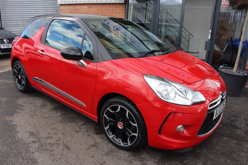 used Citroen DS3 E-HDI DSTYLE PLUS in warrington-cheshire