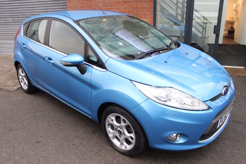 used Ford Fiesta ZETEC in warrington-cheshire